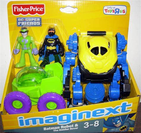 toys r us robot batman robot riddler rover vehicle figures imaginext toys r us exclusive