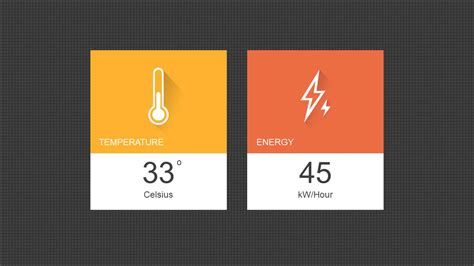 simple design for powerpoint presentation energy dashboard powerpoint template slidemodel
