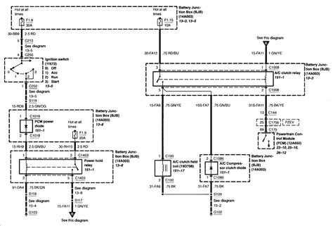 ford ignition switch wiring diagram volovets info