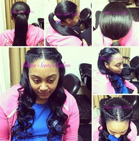 weave with minimal leave out 144 best images about sew in hairstyles on pinterest