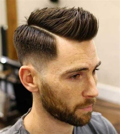 mens haircuts guide mens hairstyles side part style guide and men on