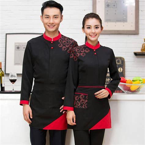 coffee shop uniform design q0228 hot pot restaurant coffee shop waiter uniforms
