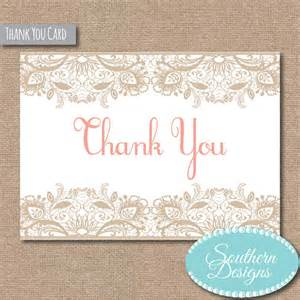 thank you card folded size 5 x 3 5 diy printable