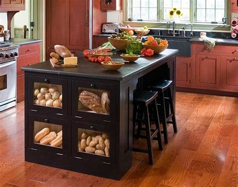 Custom Kitchen Islands That Look Like Furniture | best and cool custom kitchen islands ideas for your home
