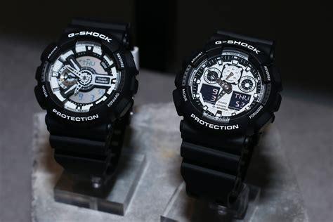 G Shock Ga 100 Black Opp3 g shock white and black series tiger stripes white