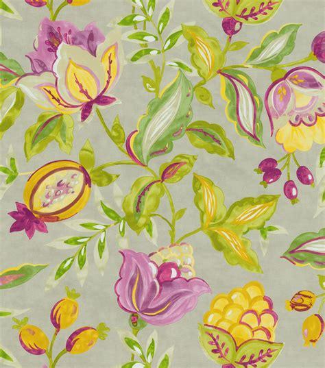 modern home decor fabric home decor print fabric waverly modern poetic honeydew