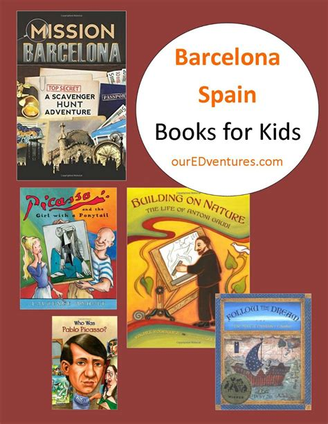 mission barcelona a scavenger barcelona spain books for kids