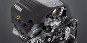 Chrysler 5 7 Hemi Engine Chrysler Boosts Power And Efficiency Of 5 7l Hemi For 2009