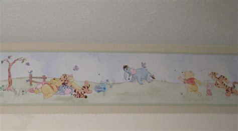 classic pooh wallpaper border classic pooh wallpaper wallpapersafari