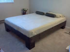 How To Make Bed Higher by White Chunky Leg Bed Frame Slightly Taller Diy