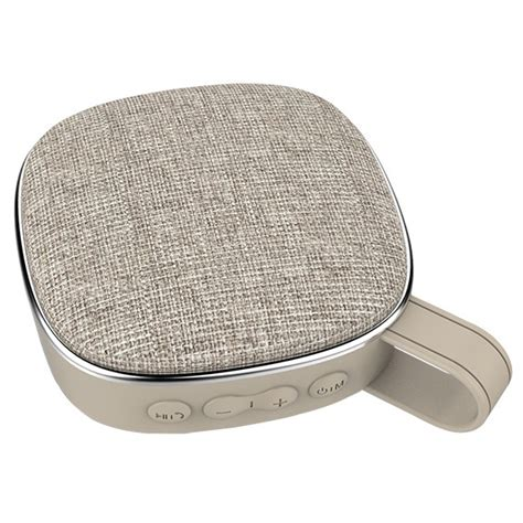 Cloth Bluetooth Speaker travel cloth bluetooth speaker k23 gray jakartanotebook