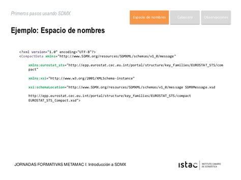 cabecera xsd sdmx 03 introducci 243 n al sdmx