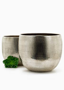Silver Planters by The World S Catalog Of Ideas