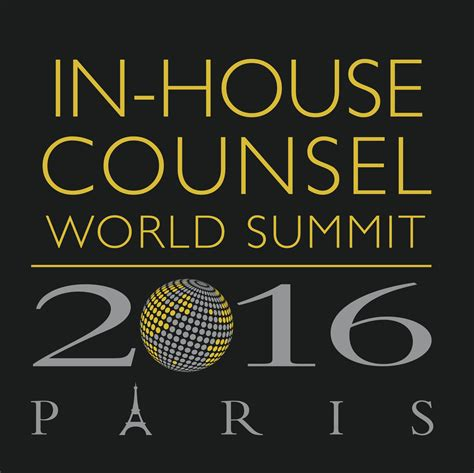 in house counsel in house counsel world summit 2016 fondation maison de la chimie paris 24th oct