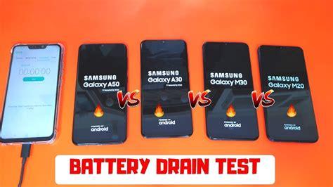 Samsung Galaxy A50 Vs M30 by Samsung Galaxy M30 Vs Galaxy M20 Vs Galaxy A30 Vs Galaxy A50 Battery Discharging Test