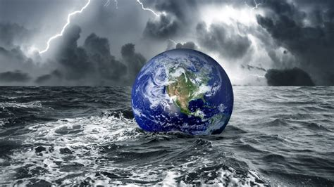 earth water wallpaper download wallpaper 1600x900 earth in water at darkness hd