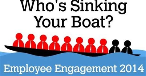 sinking boat team building game did you know that 7 out of 10 employees are dis engaged