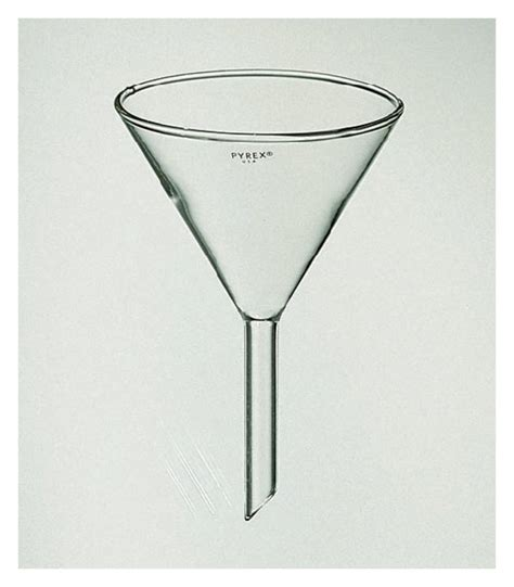 Funel Corong Pyrex Diameter 100mm pyrex funnels with 60 angle bowls and 100mm stems beakers bottles cylinders