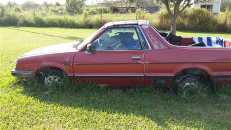 subaru brat for sale craigslist 1985 subaru brat project manual for sale in alamo