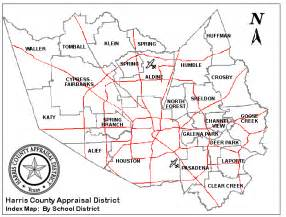 harris county appraisal district maps