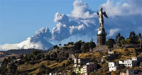 quito as cotopaxi awakens quito and its suburbs get ready for a
