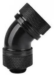 Thermaltake Pacific G14 Petg 16mm Od Compression Black thermaltake pacific g1 4 petg 45 degree compression