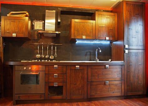 mobili cucina etnica cucina etnica in legno e crash bambu cucine a prezzi