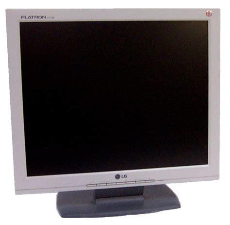 Monitor Lg 17 Inch lg flatron l1715s 17 inch lcd monitor silver grade b ebay