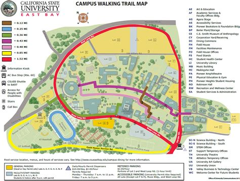 Csu East Bay Mba Road Map csu east bay map my