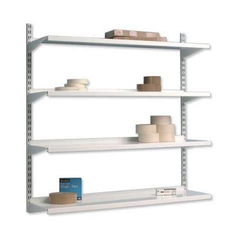 trexus top shelf shelving unit system 4 shelves metal 99067x
