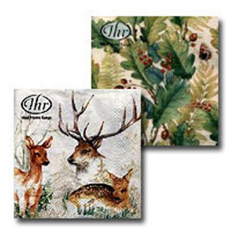 tischdecken mit jagdmotiven servietten hirschhornwaren haenel