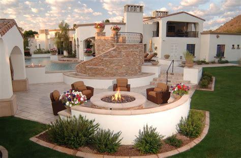 backyard luxuries beautiful inspiring outdoor firepits