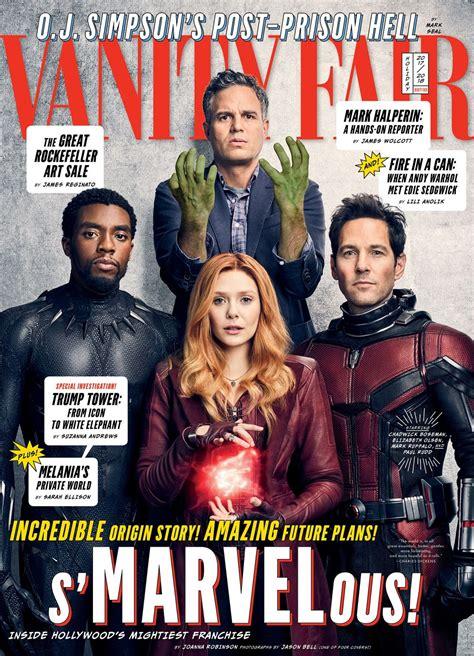 vanit fair actors of marvel vanity fair magazine december 2017