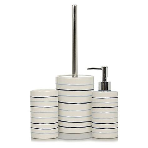 Striped Bathroom Accessories Striped Bath Accessories Range Bathroom Accessories George At Asda