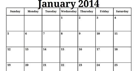 2014 printable calendar template doliquid