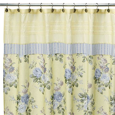 laura ashley shower curtain laura ashley caroline 72 quot x 72 quot fabric shower curtain