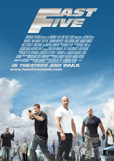 film streaming fast and furious 5 poster du film fast and furious 5 acheter poster du film