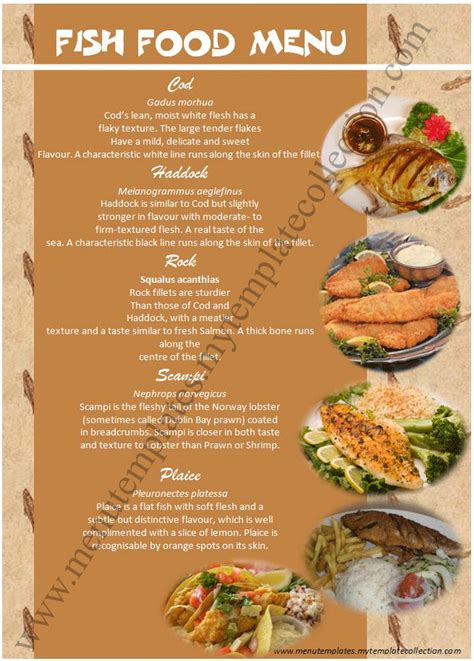 free food menu templates free other design file page 37 newdesignfile