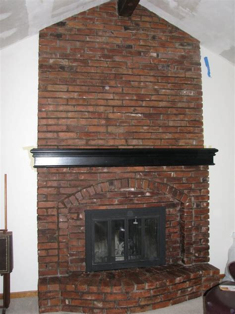 Refacing Brick Fireplace by Brick Fireplace Refacing Photos