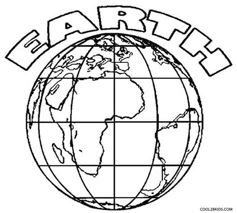 earth coloring page printable earth layers coloring pages