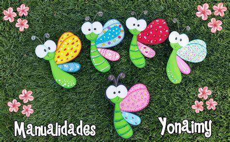 imagenes mariposas de fomi mariposas de perfil hechas con foamy o goma eva youtube