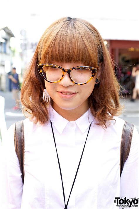 hairstyles for cat eye glasses harajuku trio w chanel tokyo bopper lilac bob hairstyle