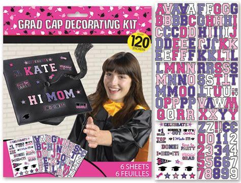 Graduation Cap Decoration Kit 4funparties graduation cap decorating kit