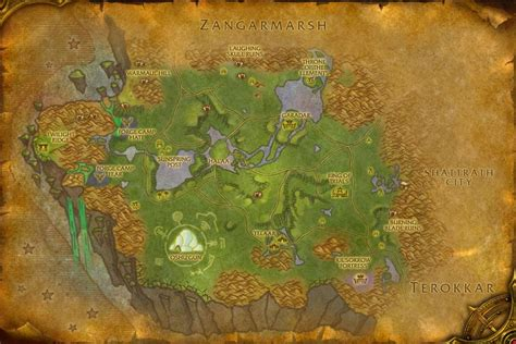 Razorthorn Shelf Map by Nagrand Wowwiki Your Guide To The World Of Warcraft