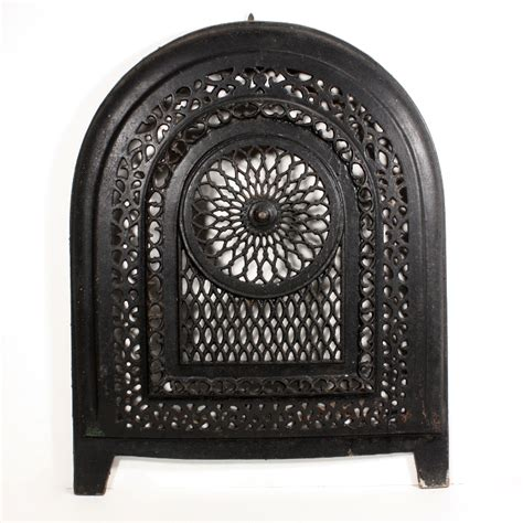 magnificent antique cast iron arched summer cover early