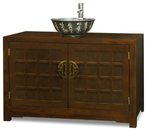 asian bathroom vanity elmwood tansu style vanity cabinet asian bathroom vanities and sink consoles by china