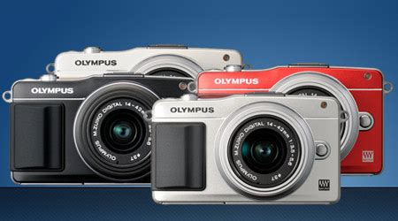 fastest point and shoot olympus pen e pl5 and pen e pm2 cameras with fast af