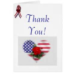 patriotic thank you greeting card zazzle