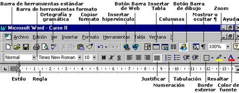 barra de herramientas parte superior computaci 243 n octavo aeb utilizar ventanas e iconos