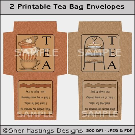 tea bag envelope template high tea tea bag envelope printable tea bag envelope